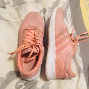 Pink Addidas Shoes
